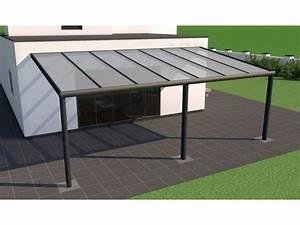 Abris De Terrasse En Kit : pergola aluminium neolis anthracite texture 3 x 2 5m ~ Dailycaller-alerts.com Idées de Décoration