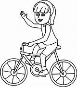 Bike Coloring Pages Ride Encourage Learn sketch template