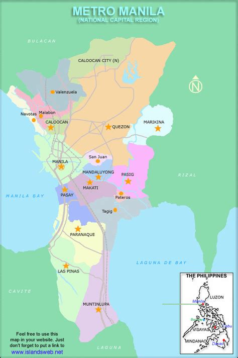 maps location manila