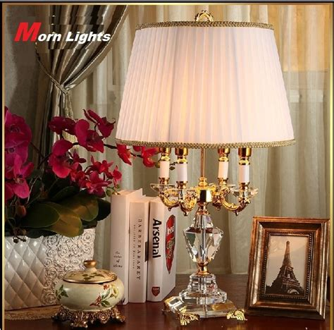 bedroom table lamps contemporary modern crystal lamp lighting bedroom bedside lamp luxury 14438   Modern Crystal Lamp lighting bedroom bedside lamp luxury fashion crystal table lamp Abajur