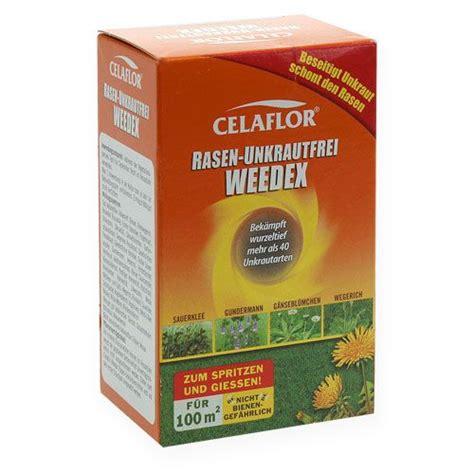 rasenmä auf rechnung celaflor rasen unkrautfrei weedex 100ml preiswert