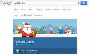 How Google Became A Santa Tracker Tradition To Rival NORAD ...