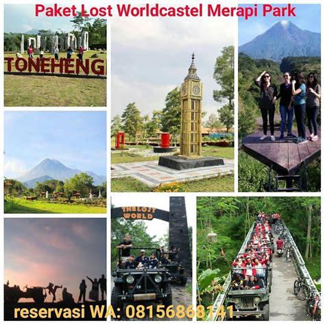 rute jeep offroad wisata merapi park lost world castel