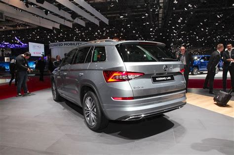 Skoda Kodiaq Laurin & Klement Rear Three Quarters At 2018