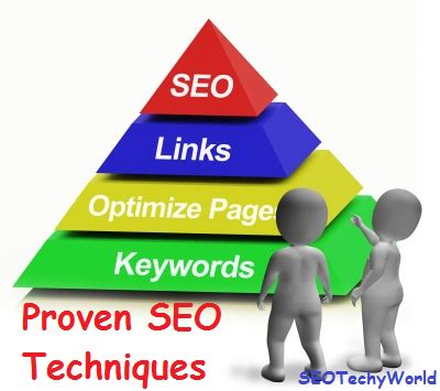 Seo Techniques by Seo Techniques To Lift Up Your Website In S Top 10
