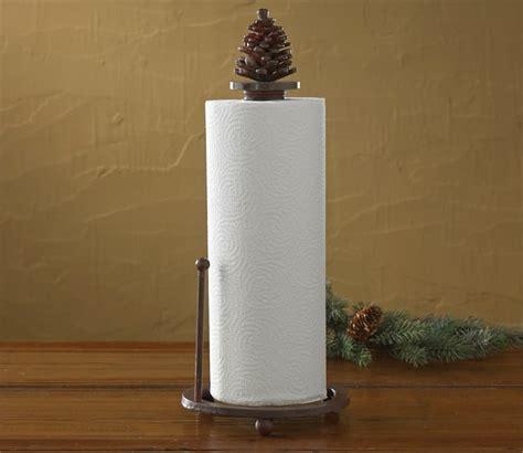 pinecone kitchen accessories pinecone paper towel holder 1496