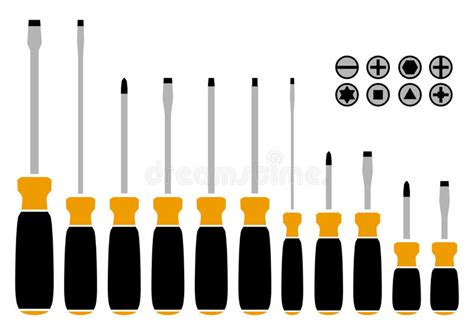 6 Types Of Screwdrivers