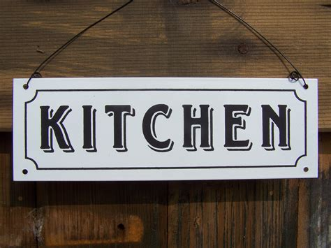signs kitchen sign the king co Kitchen