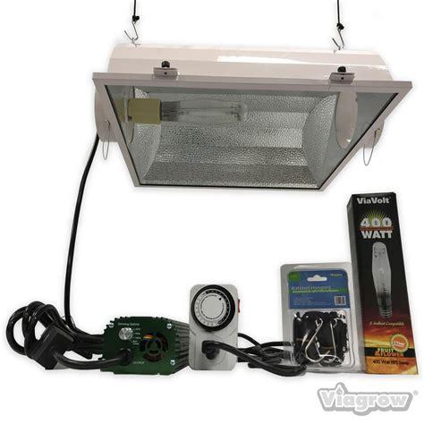 400 watt hps grow light viavolt 400 watt hps mh white grow light system with timer