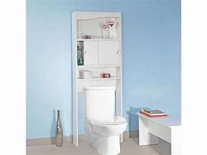 meuble wc suspendu rangement maison design bahbecom With meuble wc conforama
