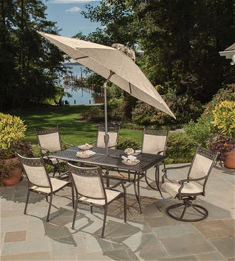 cast aluminum sling sets gt manhattan gt patio furniture