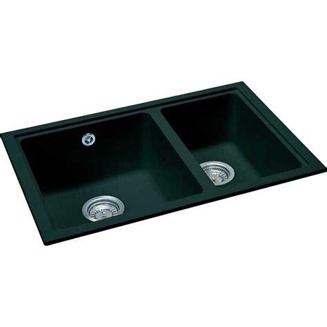 homeofficedecoration black granite sinks undermount