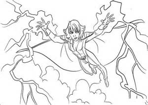 storm   power coloring page supercoloringcom