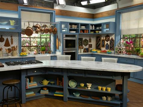 food network kitchen on the set of the kitchen the kitchen food network