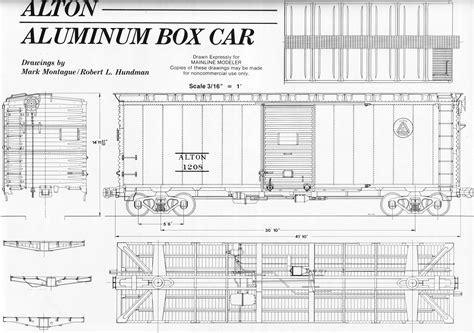 box auto dwg 40 foot box car the home machinist