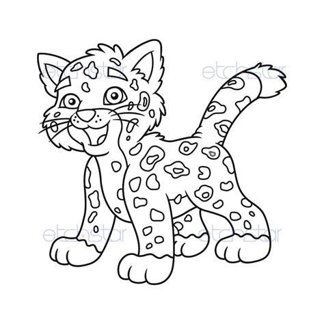 pictures  baby jaguars az coloring pages