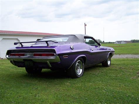 1970 Dodge Challenger Rt Convertible  Plum Crazy