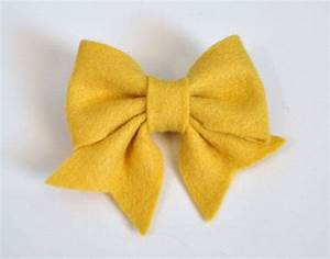 felt bow pdf tutorial with printable templates 6 bows in 1 With felt bow tie template