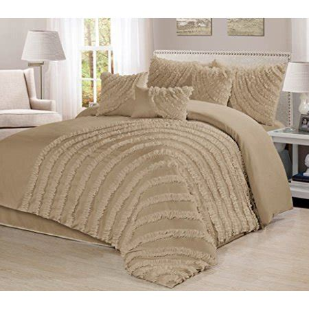 clearance comforter set 7 bed in a bag ruffled clearance bedding comforter set fade resistant wrinkle