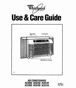 Whirlpool Air Conditioner Acq102 User Guide