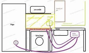schema branchement table a induction brancher une plaque With installation electrique d une cuisine