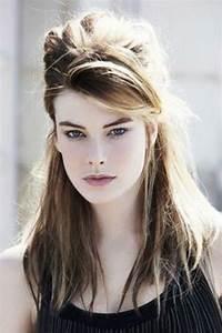 Coiffure Pour Cheveux Mi Longs : coiffure rock femme cheveux mi long ~ Melissatoandfro.com Idées de Décoration