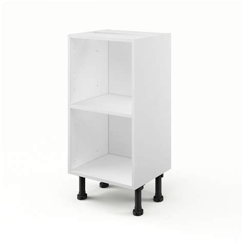 cuisine blanc laqué ikea caisson de cuisine bas b40 35 delinia blanc l 40 x h 85 x