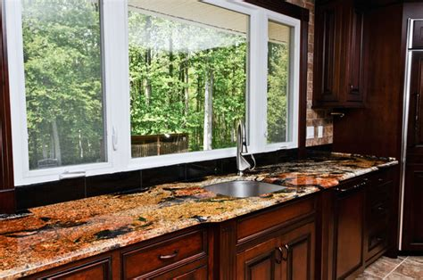 magma gold granite traditional kitchen dc metro by