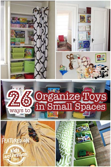 26 Ways To Organize Toys In Small Spaces  New Homeschool
