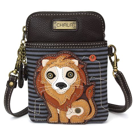Cell Phone Crossbody Lion