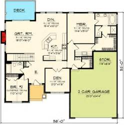 inspiring open concept bungalow house plans photo plan 89845ah open concept ranch home plan craftsman