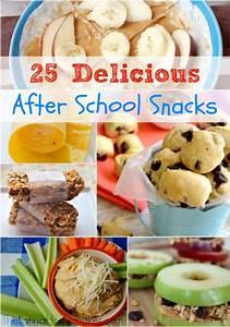 25 Delicious After School Snacks