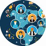 Marketing Social Icon Comunidad Transparent Cyber Plan