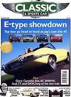 Classic Cars Zeitschrift : bericht in der zeitschrift 39 classic sports car 39 ber ~ Jslefanu.com Haus und Dekorationen