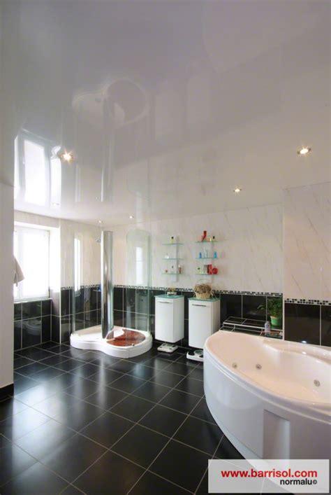plafond tendu salle de bain photos plafond tendu particulier salle de bain