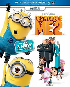 Despicable Me 2 DVD Release Date December 10, 2013