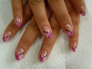 Nail art design pretty pink designs