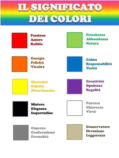 significato colori cromoterapia pinterest true colors