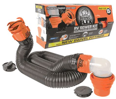 rv superstore canada rhino sewer hose kit ft