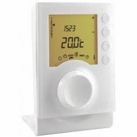 Delta Dore Tybox 117 : thermostat d 39 ambiance filaire au meilleur prix bricozor ~ Melissatoandfro.com Idées de Décoration