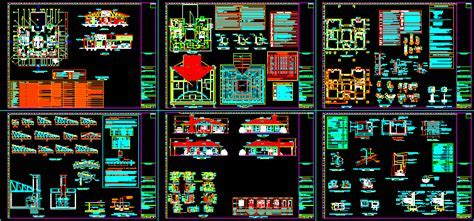 Country House 2D DWG Full Project For AutoCAD ? Designs CAD