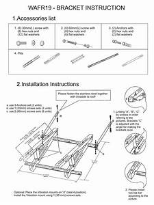 Rooftop Mount Bracket For Ac Outdoor Unit