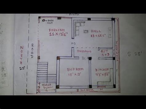 north east house plan walk  youtube indian house plans north