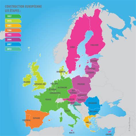 Carte Européenne Avec Capitales by Union Europ 233 Enne Webclasse
