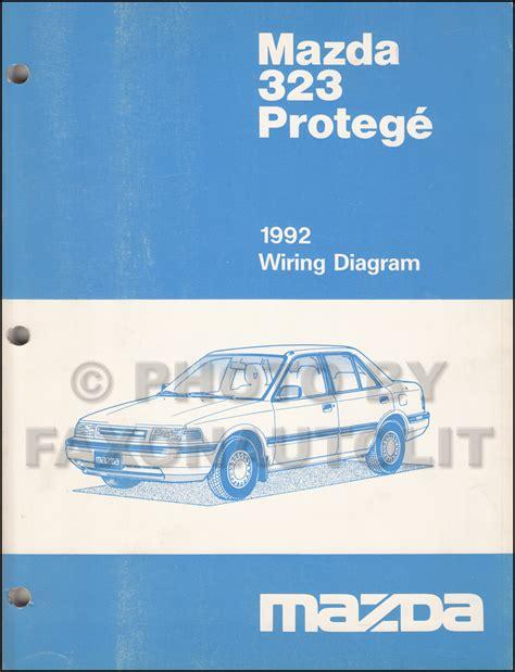 Mazda Protege Wiring Diagram Manual Original