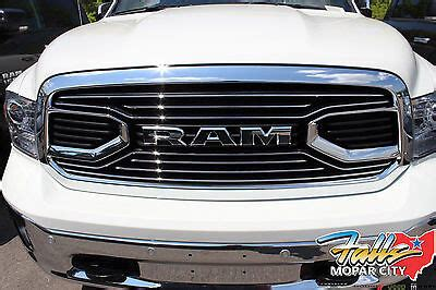 New Ram Grill by 2013 2017 Dodge Ram 1500 Chrome Laramie Limited Front