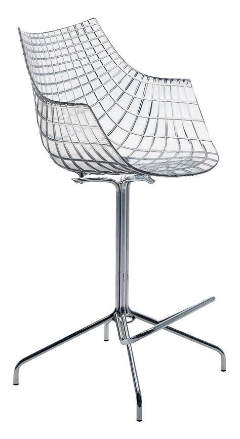 chaise 65 cm chaise de bar meridiana h 65 cm polycarbonate