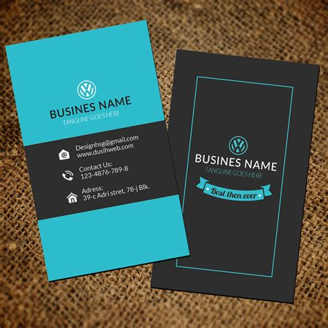 vertical business card template photoshop unique business card template for photoshop offers