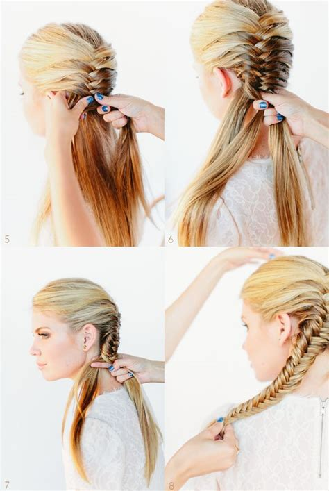 simple hairstyles  school step  step nail art styling