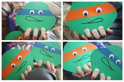 Turtle Ninja Finger Craft Puppet Easy Puppets